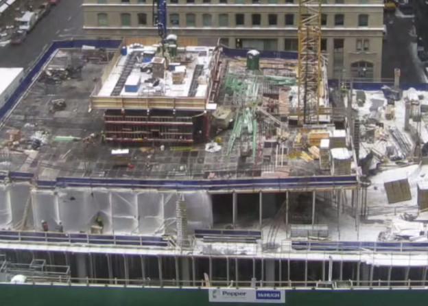 200 N.Michigan construction progress
