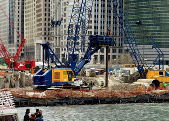 Construction Continues for bKL Designed Wolf Point West Tower