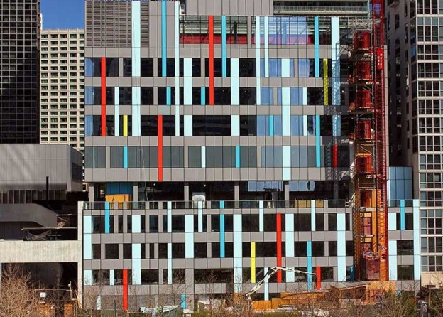 bKL Designed GEMS World Academy Brings Pop of Color to Lakeshore East