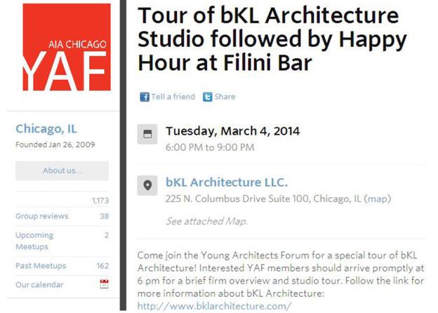 bKL to Host YAF Studio Tour