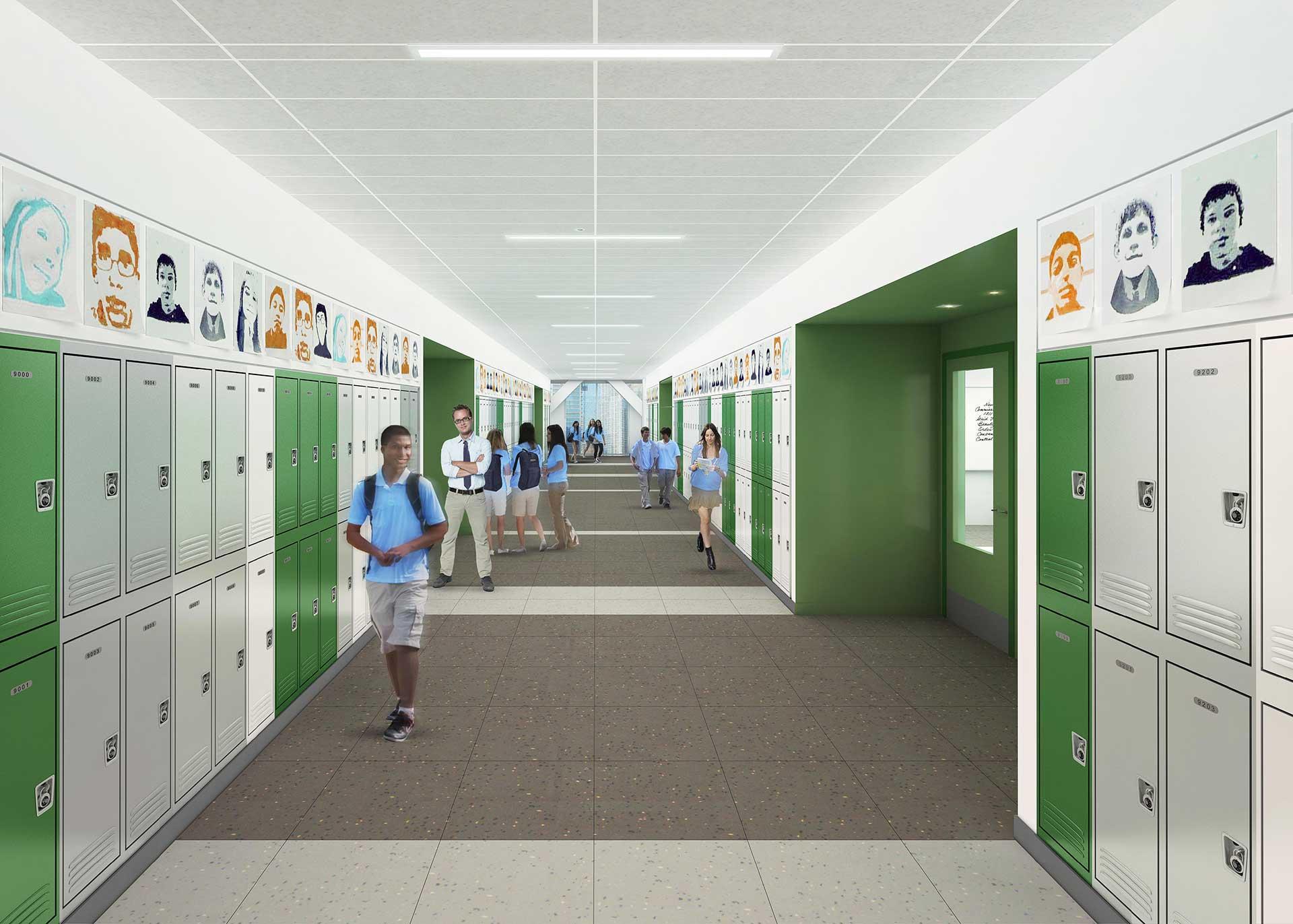 GEMS Upper Corridor