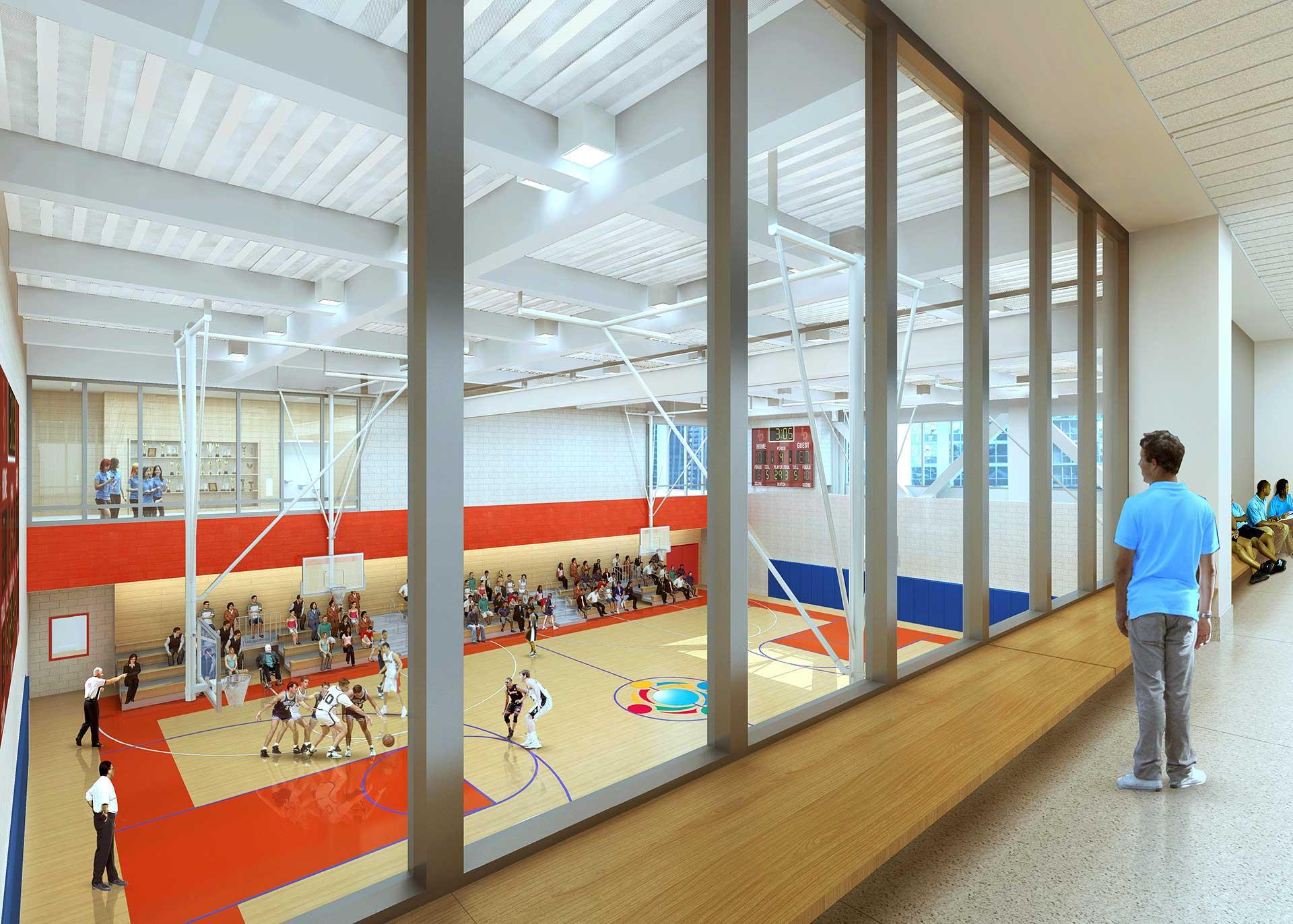 GEMS Upper Gym
