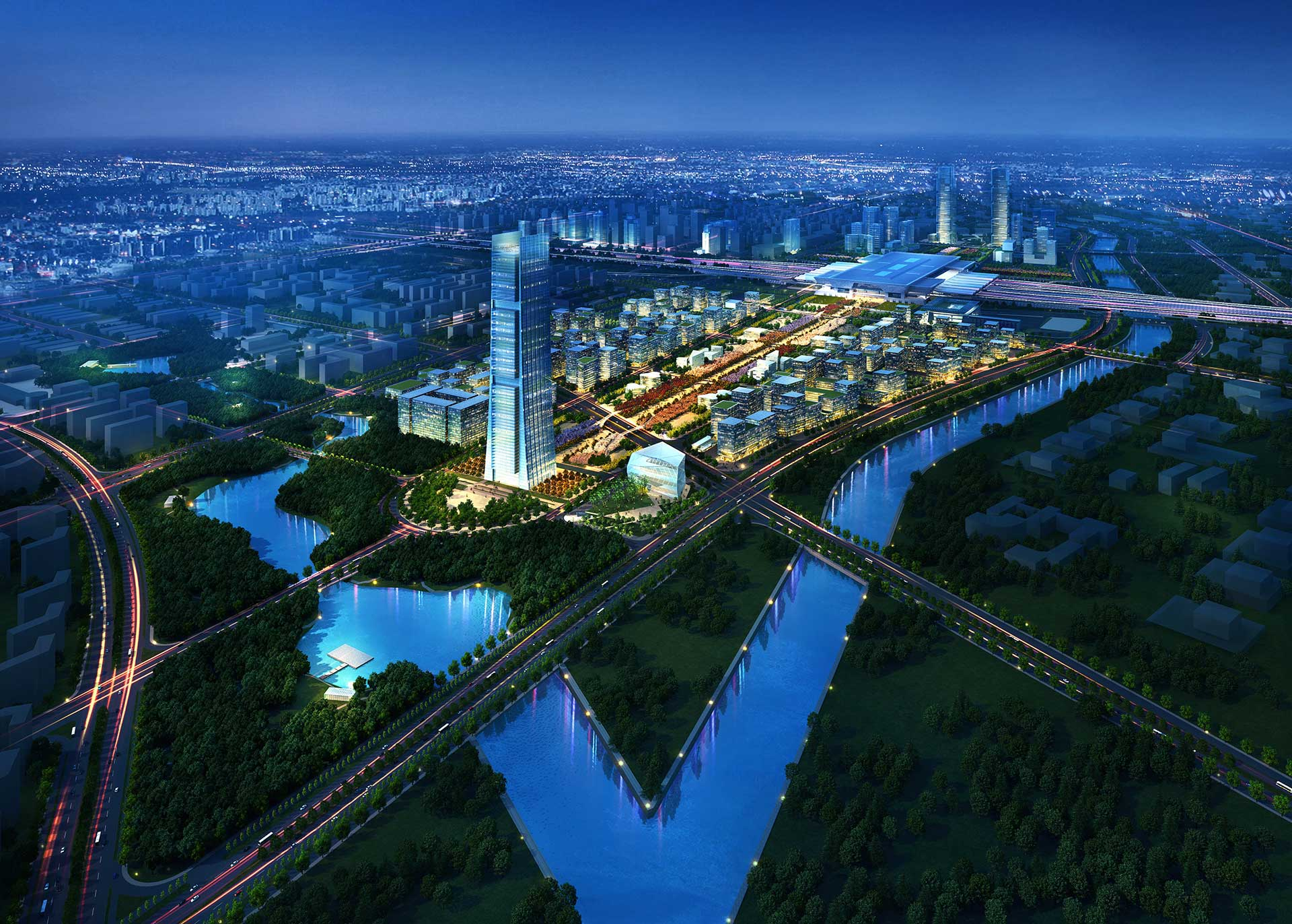 Zhengdong Transportation Hub