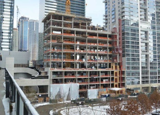 bKL's GEMS World Academy Chicago Phase I Tops Out