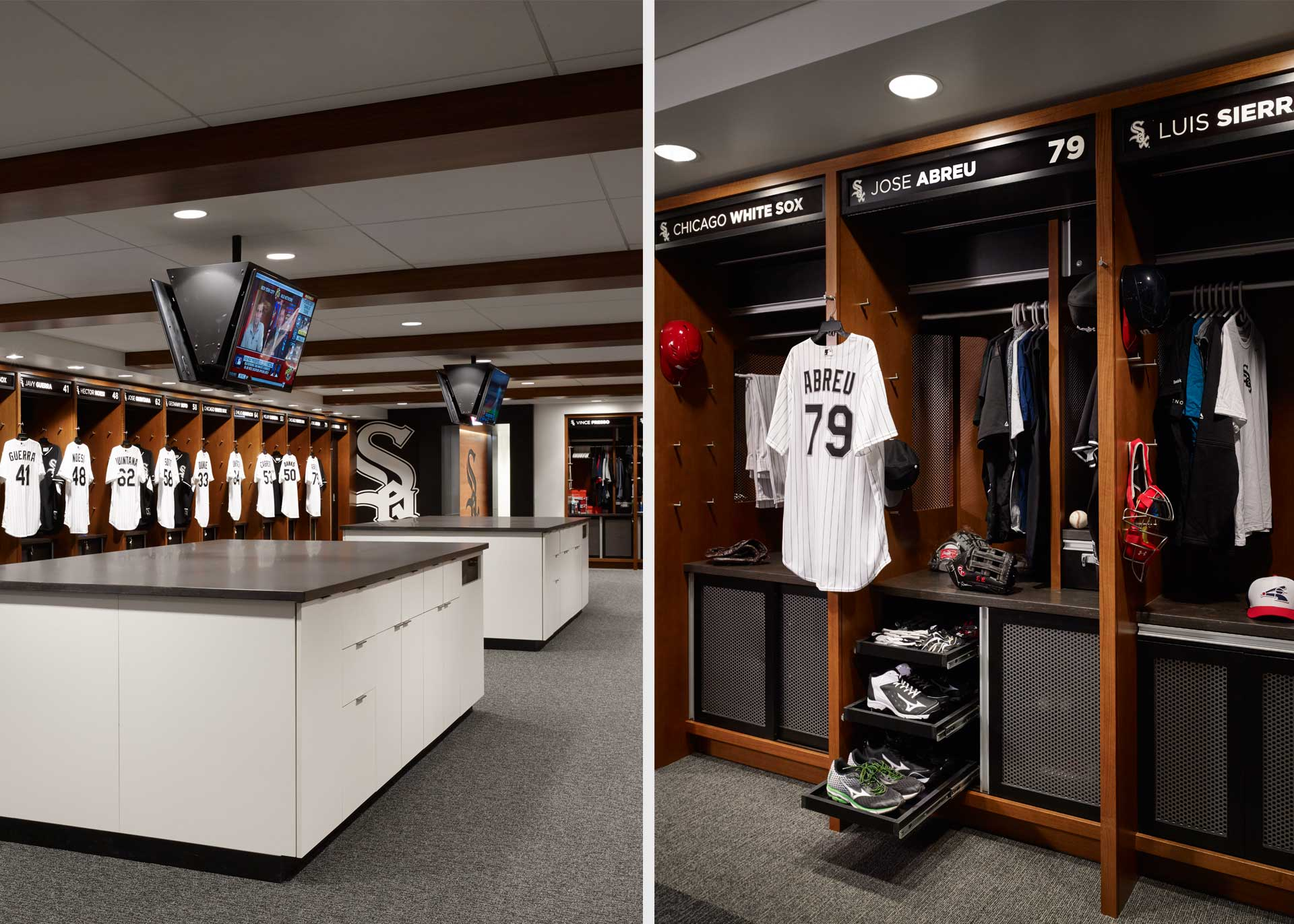 Chicago White Sox Clubhouse - bKL Architecture