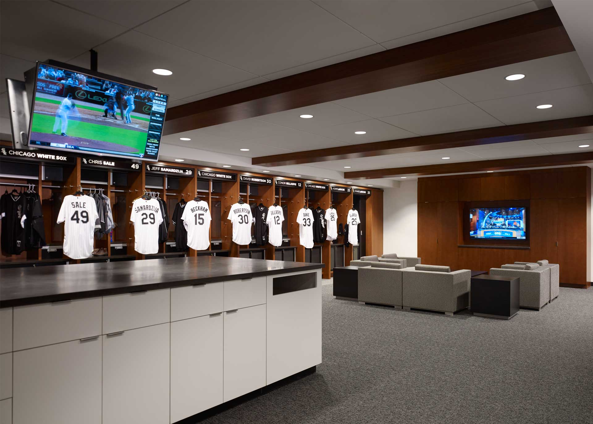 Chicago white sox clubhouse bkl architecture for Interior design consultant chicago