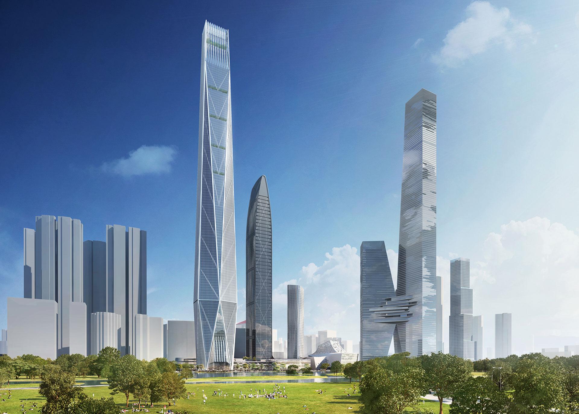 Shenzhen Tower - bKL Architecture